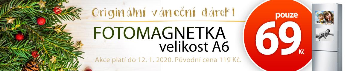 Akce na magnetky A6 potisknuté vaší fotkou nápisem nebo grafikou