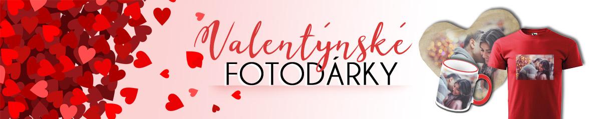 Dárky k Valentinu s fotkou