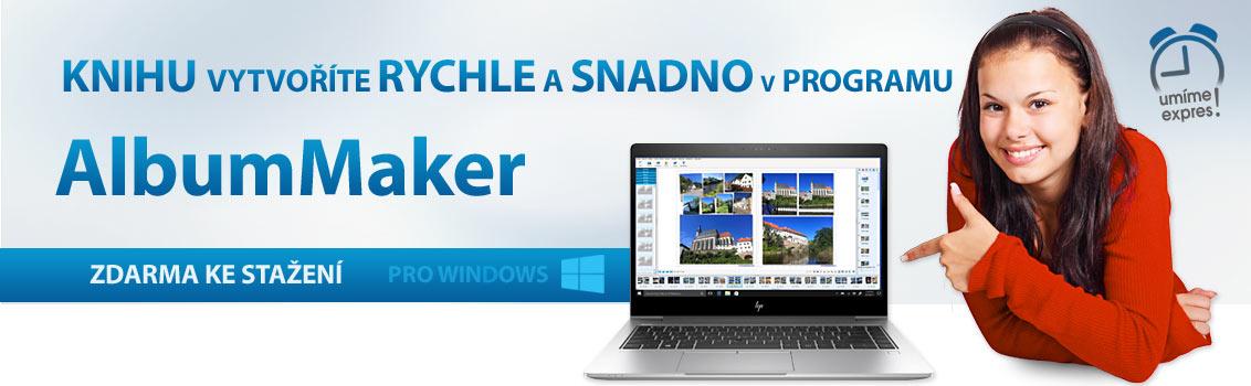 Program AlbumMaker umí poskládat fotoknihu podle vašich představ.Jednoduše doplníte popisy. Program je zdarma.