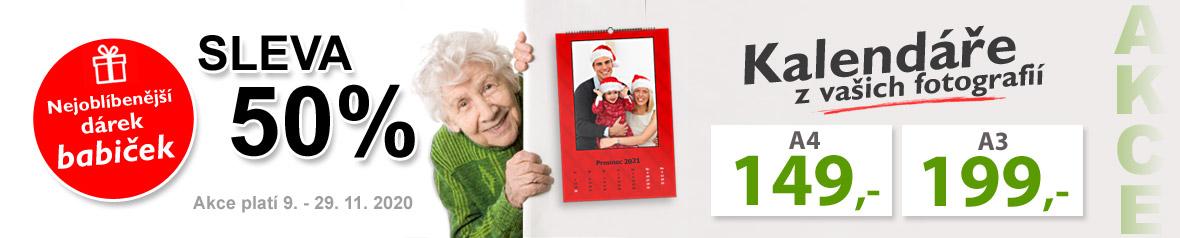Kalendáře z vašich fotek AKCE - pěkný vánoční dárek