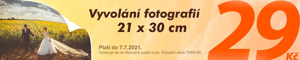 Akce na fotky A4 jen  za 29 Kč