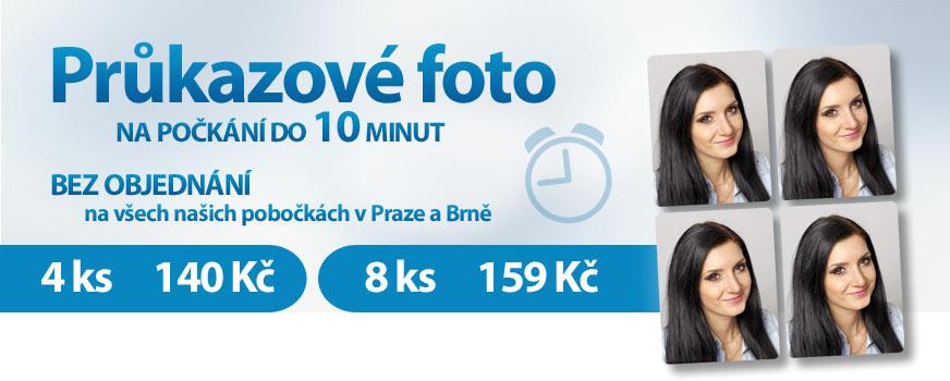 Fotografie na doklady. Rychlé focení v centru Prahy a Brna