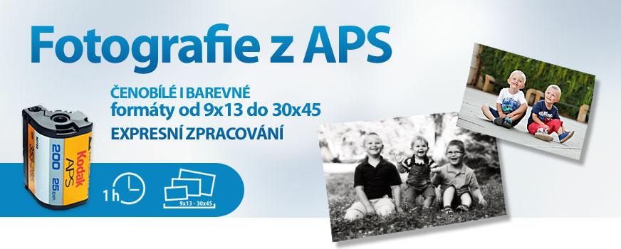 Na prodejnách v centru Prahy a Brna vyvoláte fotky z APS filmů.