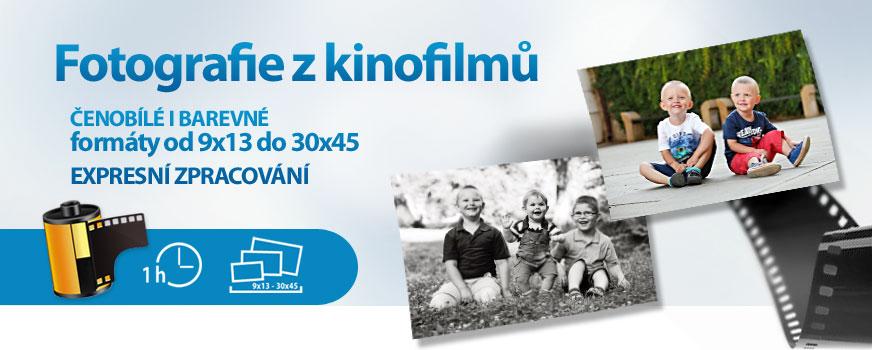 Vyvoláme všechny typy vašich kinofilmů.Minilaby na prodejnách v Praze a Brně.